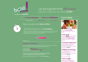 Sodexo - Site Boost&Moi Coatching Diététique<br><b>More info</b>