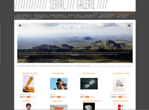 Serial Galerie <br>E-commerce<br>More info</b>