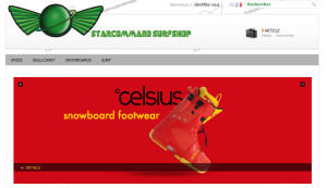StarCommand Surfshop <br>E-commerce<br>More info</b>