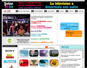 Le Salon de la télé <br>More info</b>